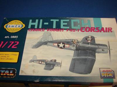 Corsair F4U hi-tech Eduard lepty