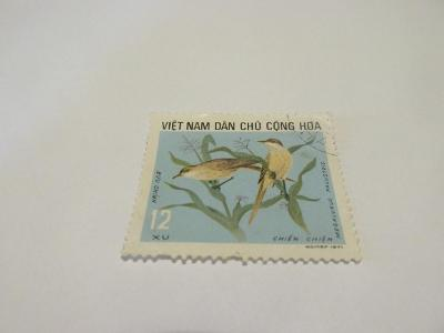 Známky Vietnam 1973, Ptáci, pomáhající v zemědělství