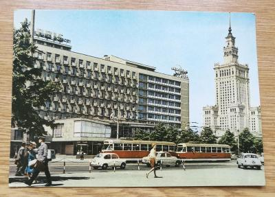 Pohled   Varšava - Hotel  Metropol - Polsko