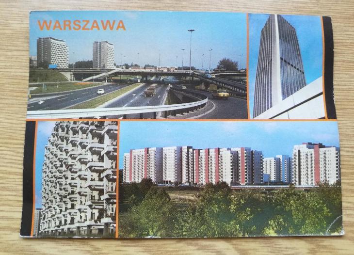 Pohled  Varšava - Pohlednice