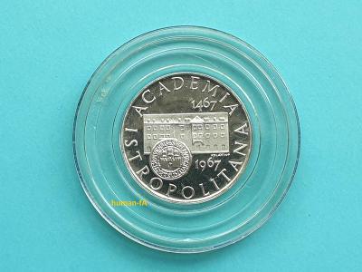 10 Kčs 1967 - ACADEMIE ISTROPOLITANA - proof - pouze 4869 kusů!!
