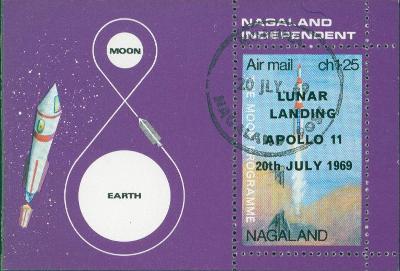 5A15 Aršík- NAGALAND/ Apollo 11- kosmos