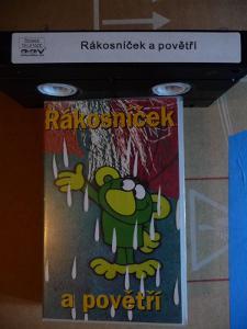 videokazeta originál Rákosníček a povětří 1995, 90min