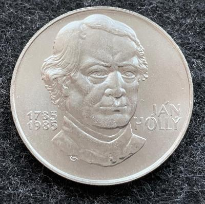 🌶 Stříbrná mince 100 Kčs Ján Hollý 200. výročí narození 1985