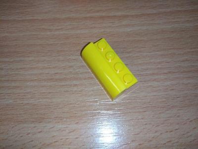 Lego díl 6081 - zaoblená, žlutá