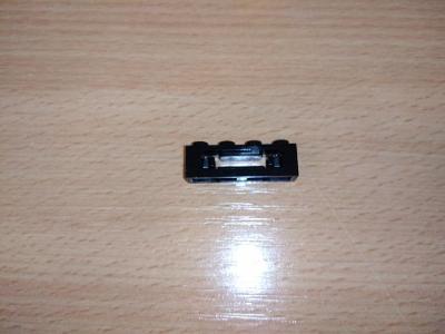 Lego díl 16968 - vrhač disků, černý