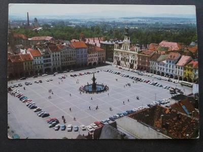 ČESKÉ BUDĚJOVICE - Náměstí - VF s24