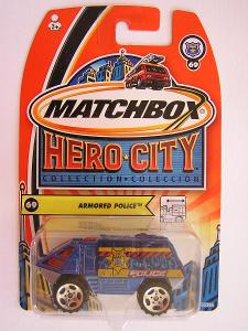 Matchbox MB69 Armored Police