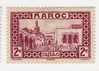 MAROKO - Mi č. 94 (1933-34)