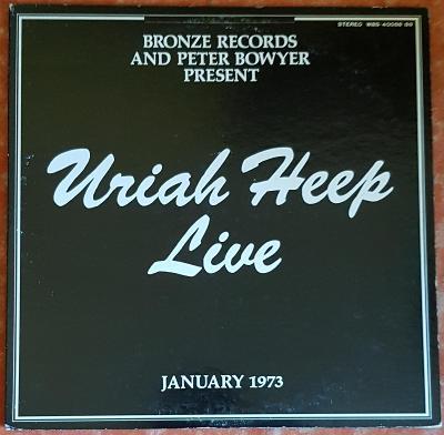 2LP Uriah Heep – Uriah Heep Live 1978