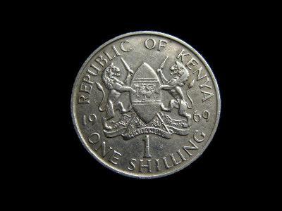 Keňa - 1 Shillings 1969