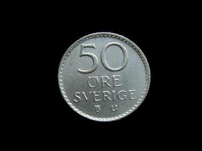 Švédsko - 50 Öre 1973