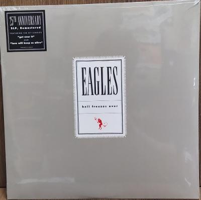 2LP vinyl Eagles Hell Freezes Over