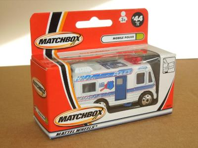 MATCHBOX 2000 - MOBILE POLICE Nr.44