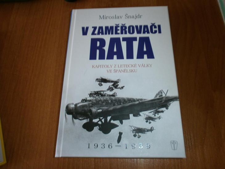 kniha V zaměřovači Rata-letecká válka ve Španělsku - Modelářství