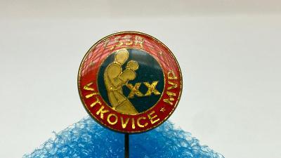 Odznak ČSSR box Vítkovice
