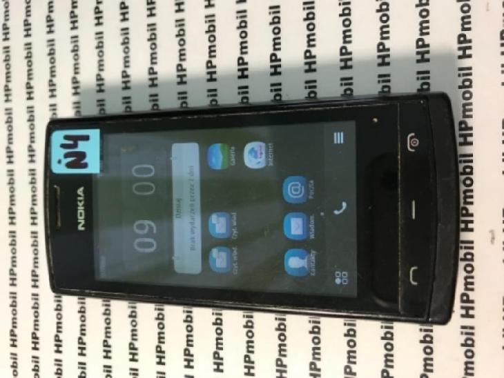 NOKIA 500 Black - Mobilní telefony