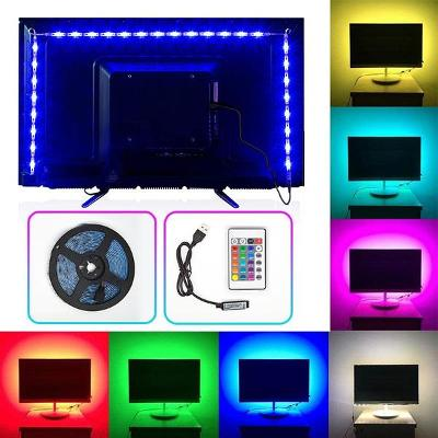 LED páska 3m - USB - ovládání dálkovým ovladačem