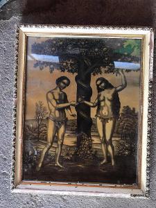 ADAM A EVA OBRAZ