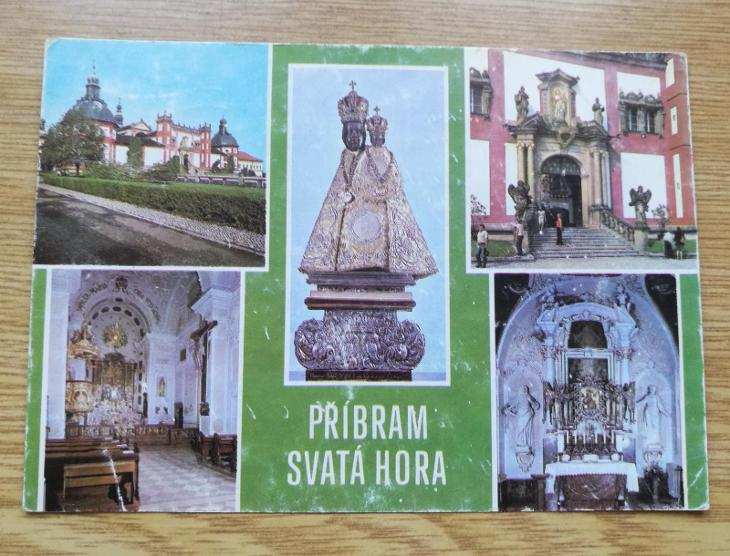 Pohled   Svatá hora Příbram - Pohlednice