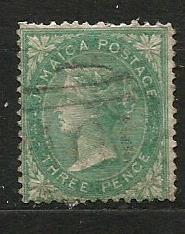 Jamajka- razít.,Mi.č.3 /3635D/