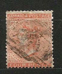 Jamajka- razít.,Mi.č.4 /3635E/