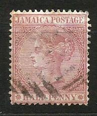 Jamajka- razít.,Mi.č.7 /3636B/