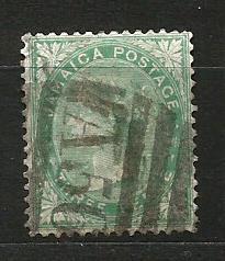 Jamajka- razít.,Mi.č.10 /3636C/