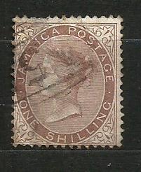 Jamajka- razít.,Mi.č.13 /3636E/