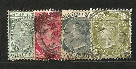 Jamajka- razít.,Mi.č.19/22 /3637/