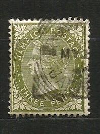 Jamajka- razít.,Mi.č.22 /3637A/