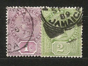 Jamajka- razít.,Mi.č.23/4 /3637B/