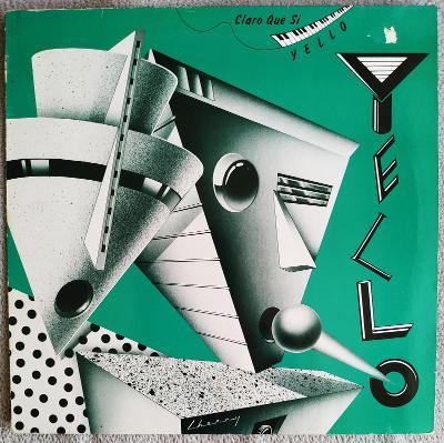 LP YELLO - CLARE QUE SI (1981) Vertigo GER Press EX++ TOP STAV!!
