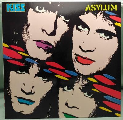 Kiss – Asylum 1985 Germany Vinyl LP 1.press