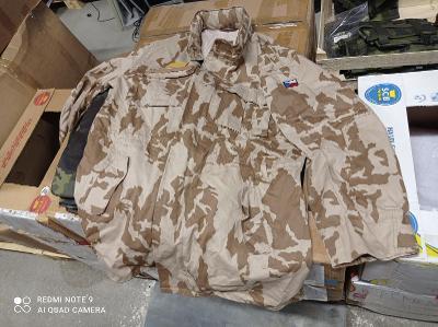 Pouštní kabát - kongo ačr vz.95 vel. 182/124 100%bavlna