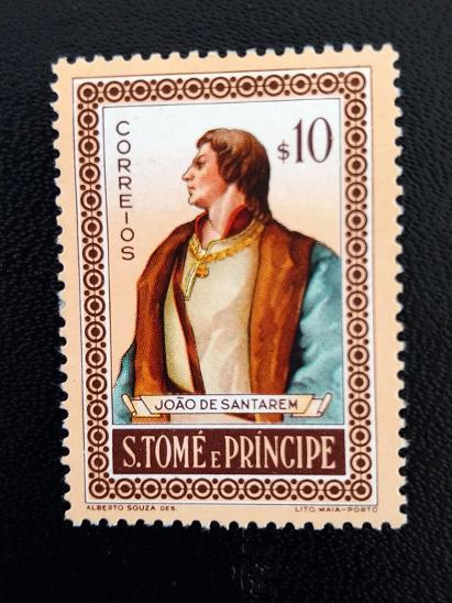 Svatý Tomáš a Princův ostrov, João de Santarém - Filatelie