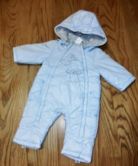 dětská zimní kombinéza vel 68 - Oblečení