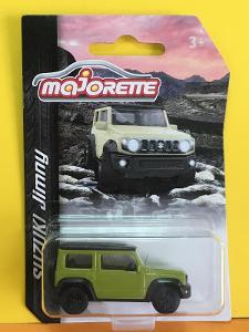 Suzuki Jimny zelená - Majorette 1/53 (H11-x)