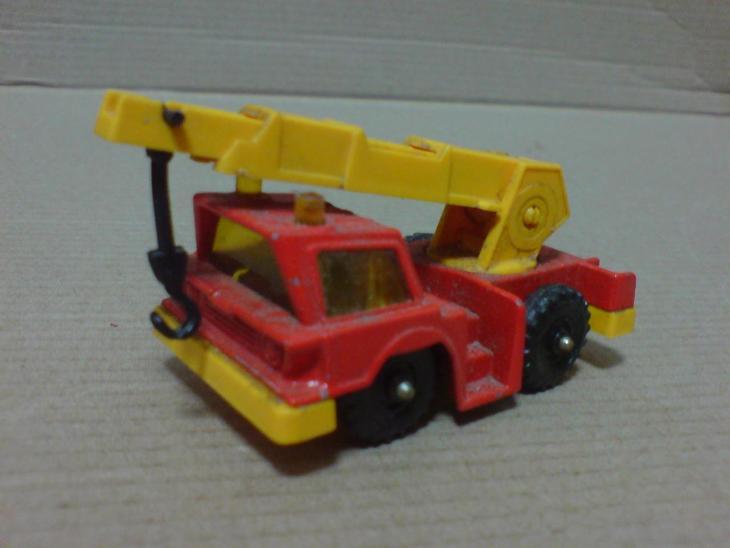 Corgi Juniors-Mobile Crane - Modelářství