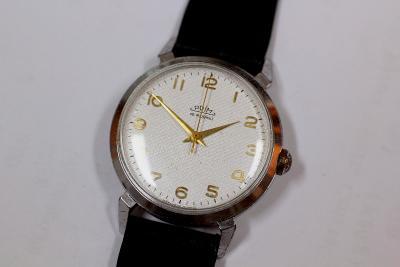Pánské hodinky PRIM 50, TOP STAV, pásek Saturn