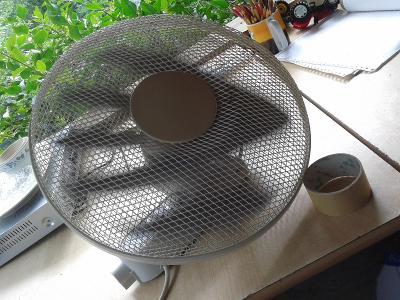 Domácí ventilátor - VIZ FOTO