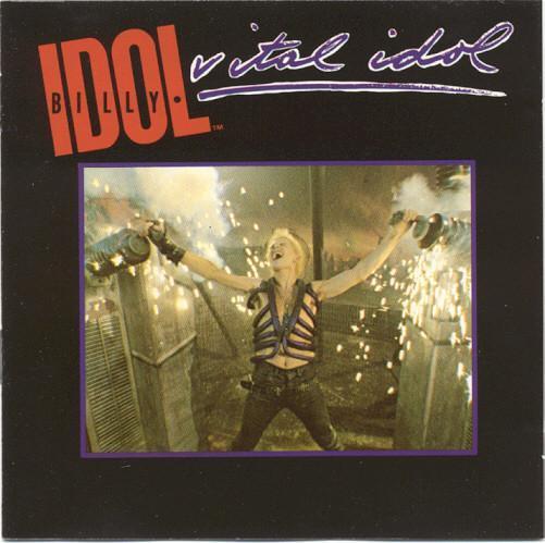 BILLY IDOL-VITAL IDOL CD ALBUM 1985. - Hudba