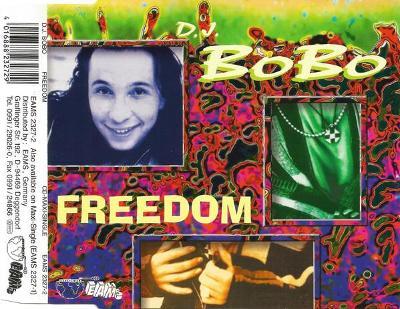DJ BOBO-FREEDOM CD SINGLE 1995.