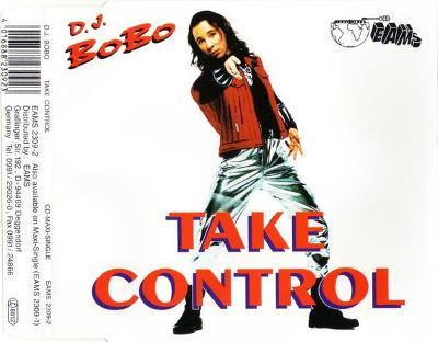 DJ BOBO-TAKE CONTROL CD SINGLE 1993.