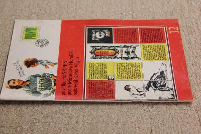 STARÝ ČASOPIS PIONÝR ROK 1975 ČÍSLO 12