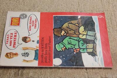 STARÝ ČASOPIS PIONÝR ROK 1975 ČÍSLO 9