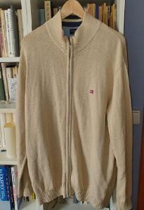 Pánský svetr béžový rozepínací Tailor&Sohn-vel. L