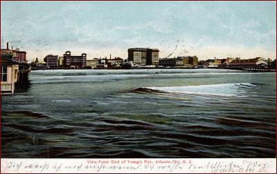 Atlantic City (New Jersey) * koupání, pobřeží * Amerika (USA) * Z2474