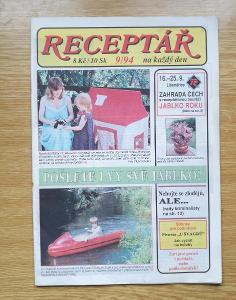 Časopis  Receptář 9/94