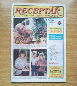 Časopis  Receptář 10/94